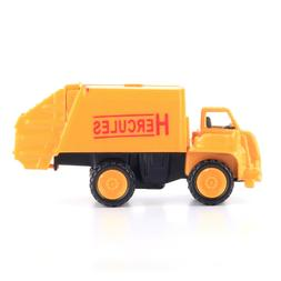 1:64 Alloy Car Garbage Truck Construction Vehicles Metal Toy
