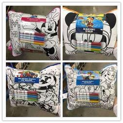 Crayola 2PK Color Me Pillow Assorted Licenses