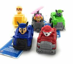 5 sets of Spin Master Paw Patrol Value Rescue Car Racer Kids