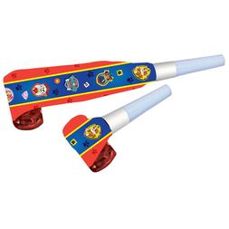Amscan 6: Paw Patrol Noisemaker Blow-outs