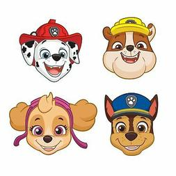 8 Pack PAW Patrol Kids Birthday Party Masks Rubble Chase Sky