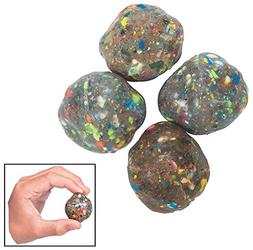 Fun Express Rubber Rock Bouncing Balls -  Rubber. 1 1/2""
