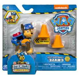 Set of 4 Paw Patrol Ultimate Rescue Action Figure - Chase Ma