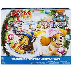 Paw Patrol Advent Calendar with 24 Collectible Plastic Figur