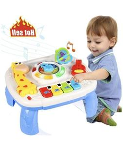 Baby Toys for 6-12 Month Baby Musical Learning Activity Tabl