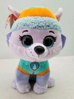 Ty Beanie Boos Paw Patrol Everest Plush Medium 10""