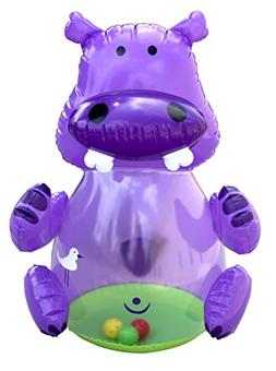 Hedstrom Baby Bop Jingly Hippo Inflatable Bopper
