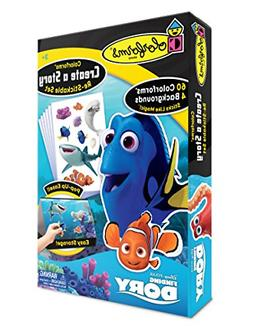 Colorforms Brand Finding Dory Create a Story Toy, Blue