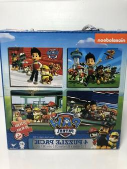 Cardinal Paw Patrol 4-Pack Of Puzzles Toy Kids Play