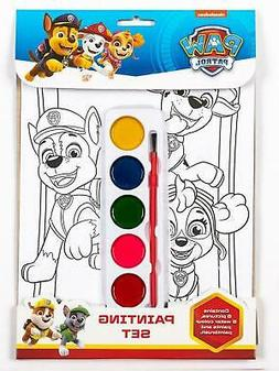 Paw Patrol Childrens Girls Boys Painting Set Activity Ages 3