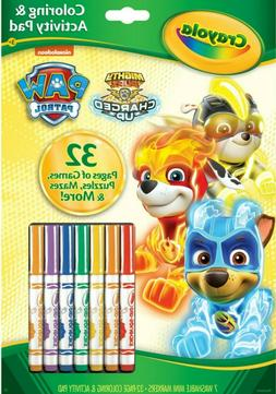 crayola paw patrol mighty pups charged up