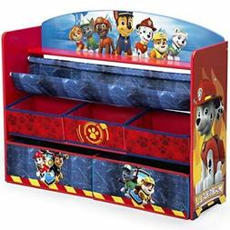Delta Children Deluxe Book and Toy Organizer, Nick Jr. PAW P
