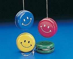 Fx Metal Smile Face Yo-Yos  - Bulk. Fun Express. Free Shippi