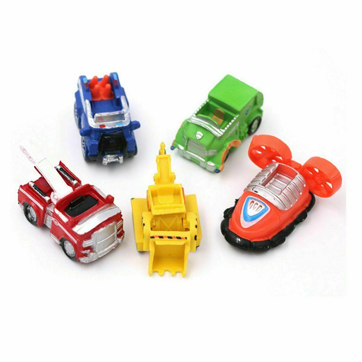 12 pcs Ryder 6 5 Vehicles Cake Toppers