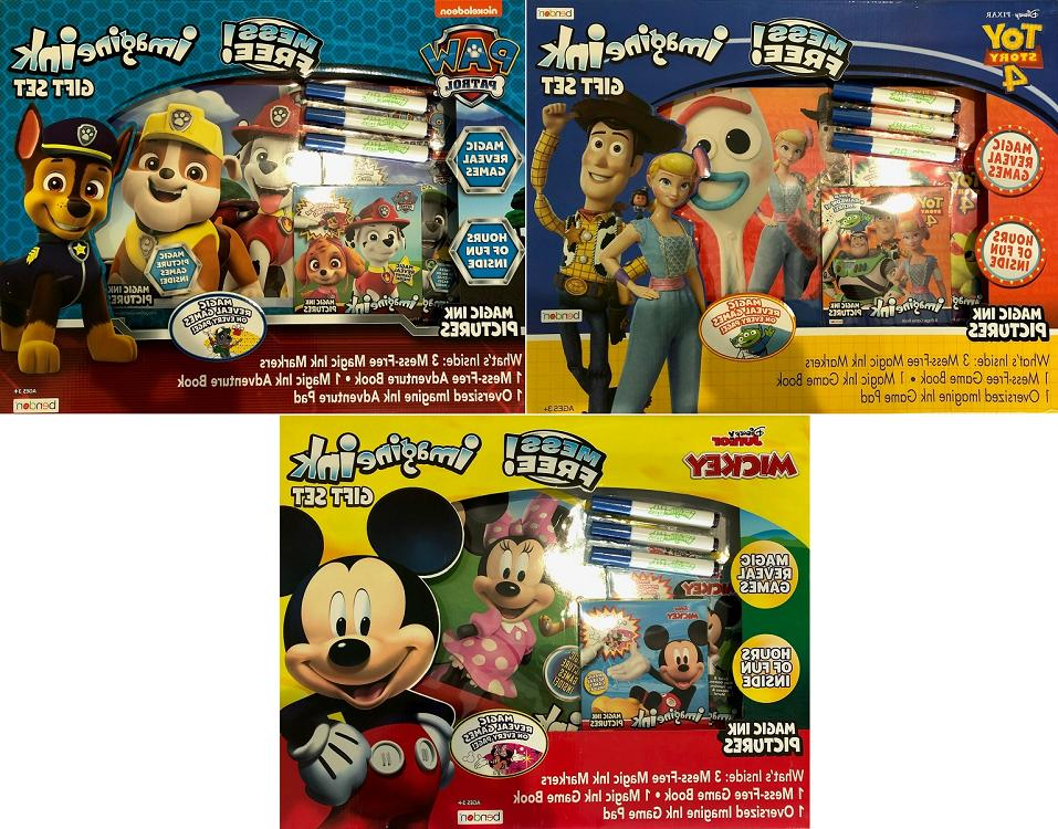 Bendon Imagine Ink Activity Gift Set, THREE Pack! Paw Patrol