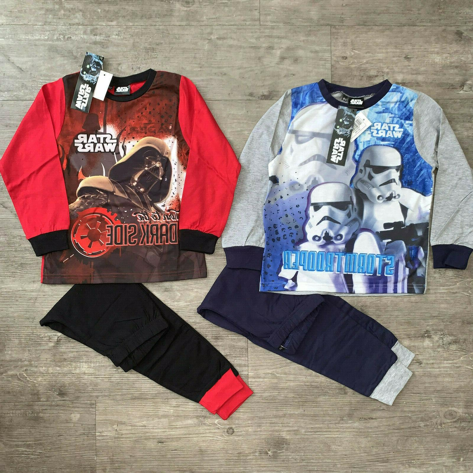Boys Star Paw Patrol Long Top Bottom 1