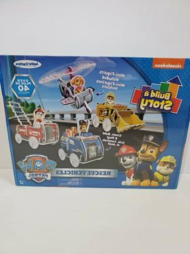 build a story 13010 paw patrol look