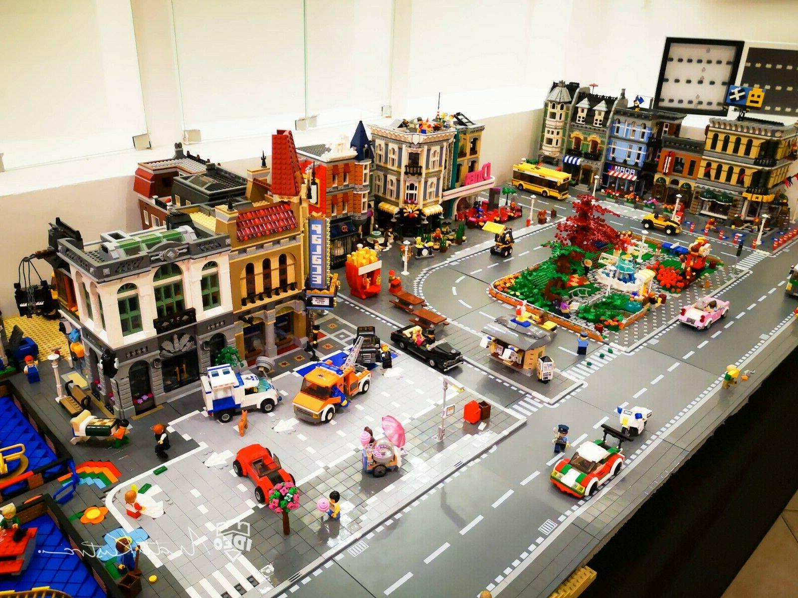 City bricks model commission with Paw by model building companies