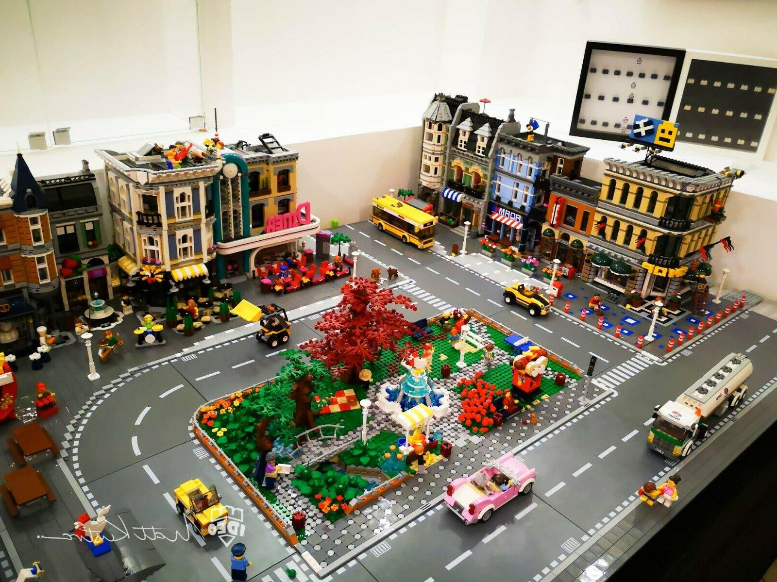 City bricks model commission with by