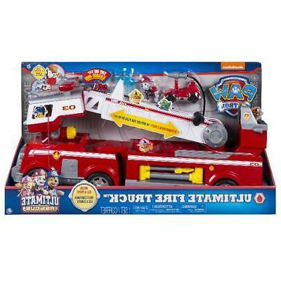 PAW Patrol Rescue Truck with Extendable 2 ft. Ladder