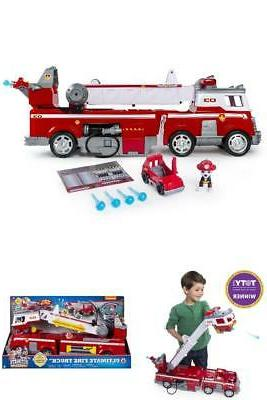kids ultimate rescue fire truck with extendable