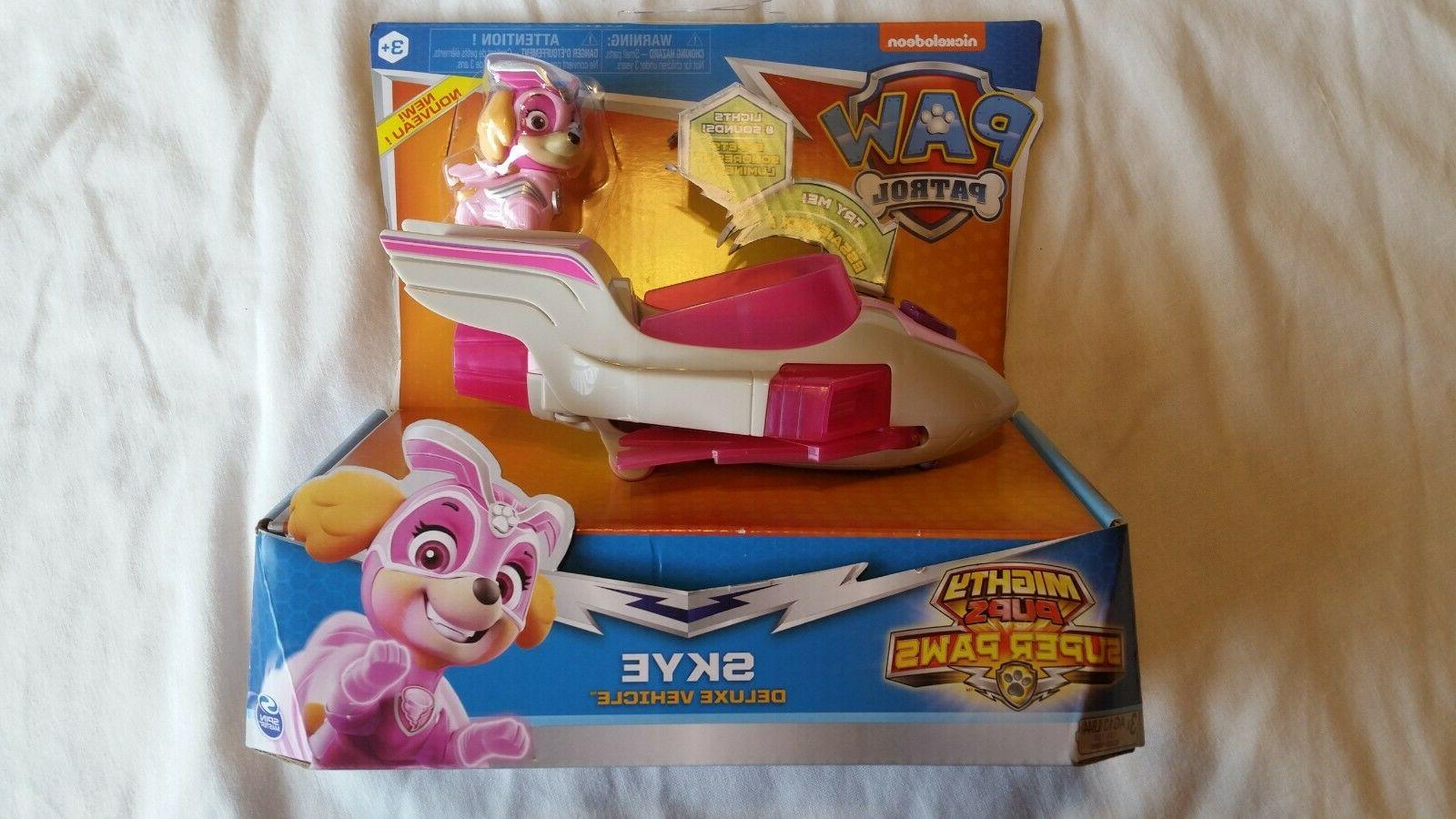 lot 3 pack PAW Patrol Chase Marshall Deluxe figures toy