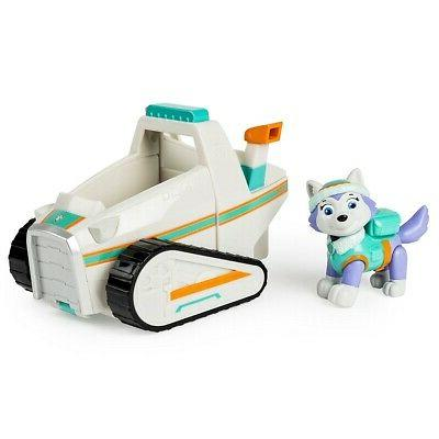 new paw patrol everest s rescue snowmobile