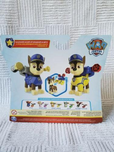 Nickelodeon Patrol police Action Pack with 2 Backpacks