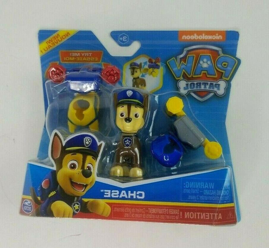 paw patrol chase police action pack figure