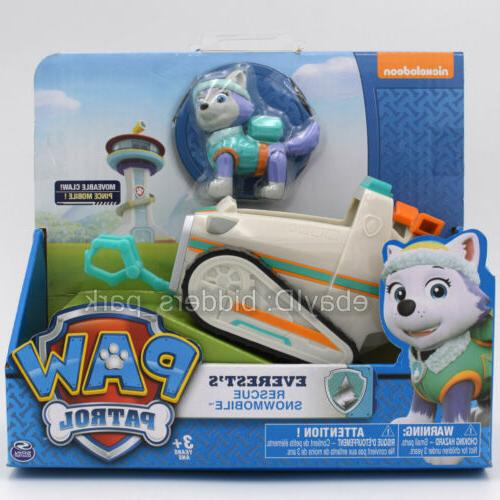 Nickelodeon PAW Patrol Everest's Rescue Snowmobile Car Kids Toy