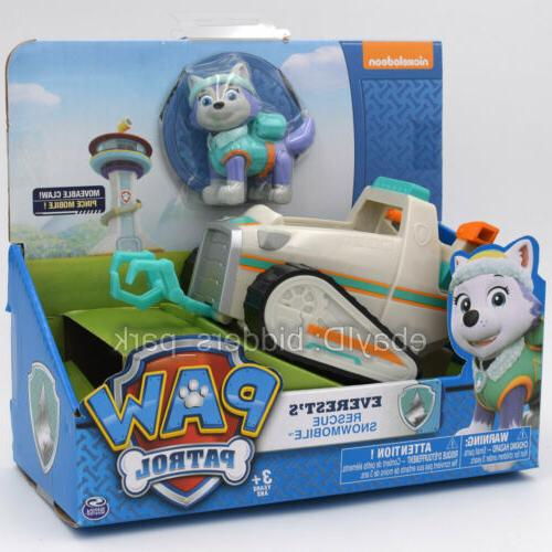 paw patrol dog everest s rescue snowmobile