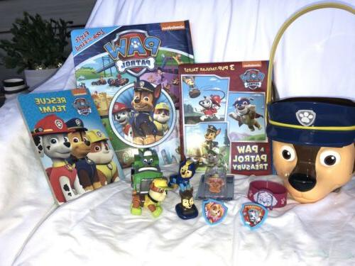 Paw Patrol Puppy Rescue Figure Action Character Books Book