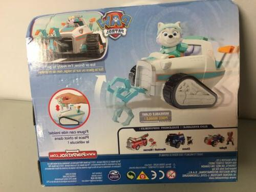 Paw - Everest's Rescue Snowmobile - and Figure