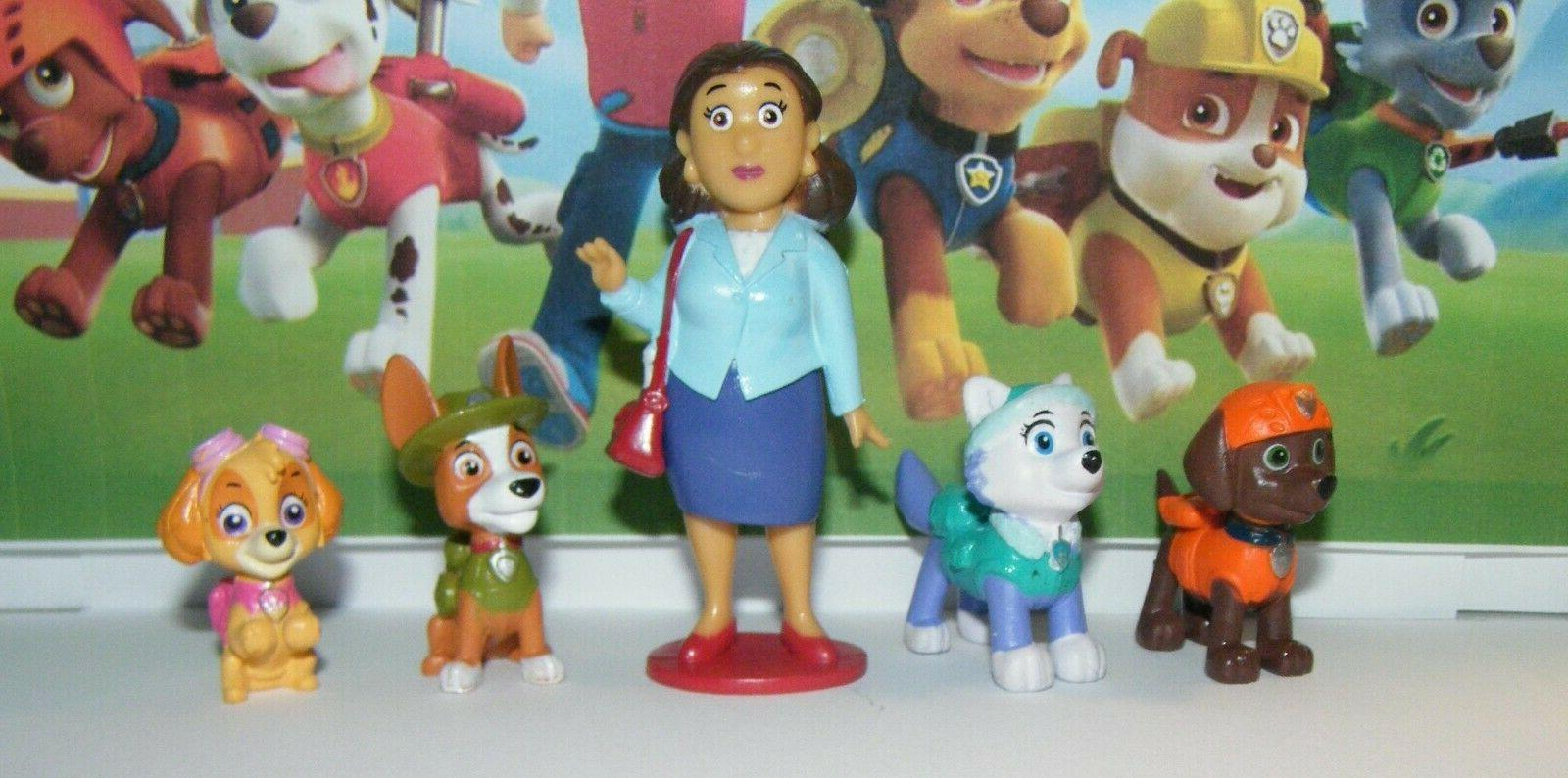 Nickelodeon PAW Set with figures Featuring Original