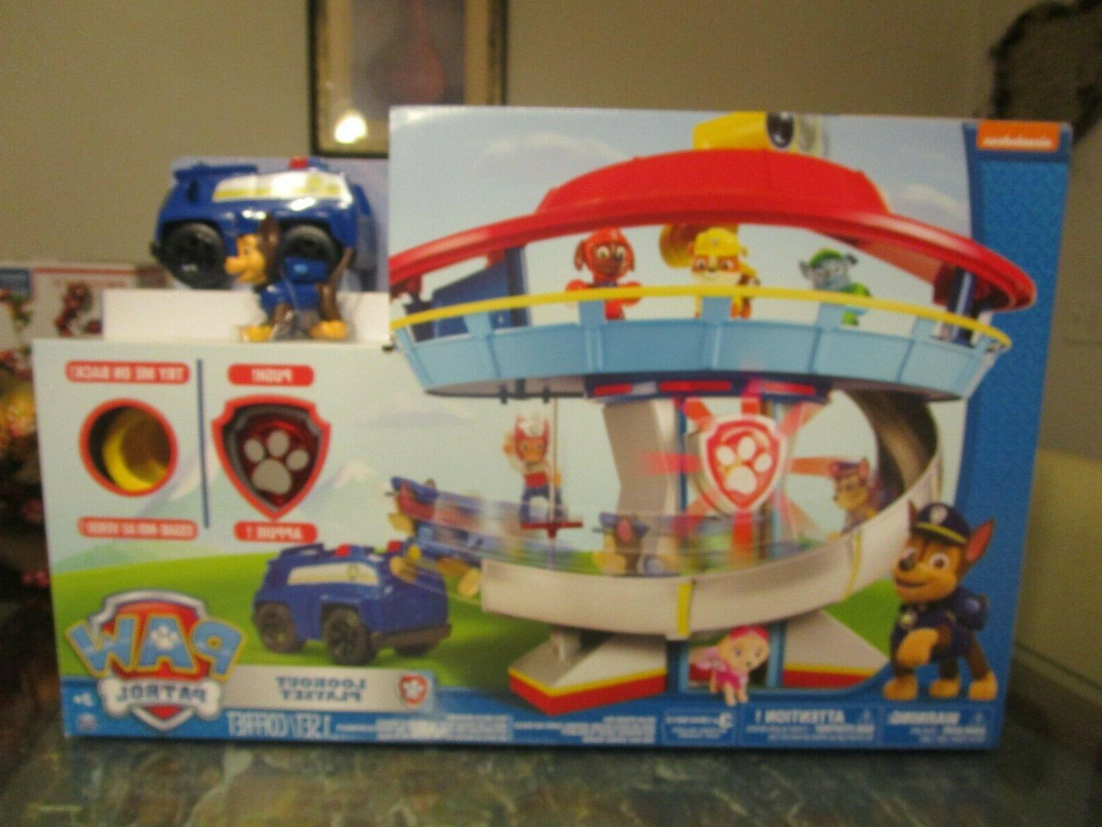 Tower Chase Vehicle, Lights Sounds Kid toy