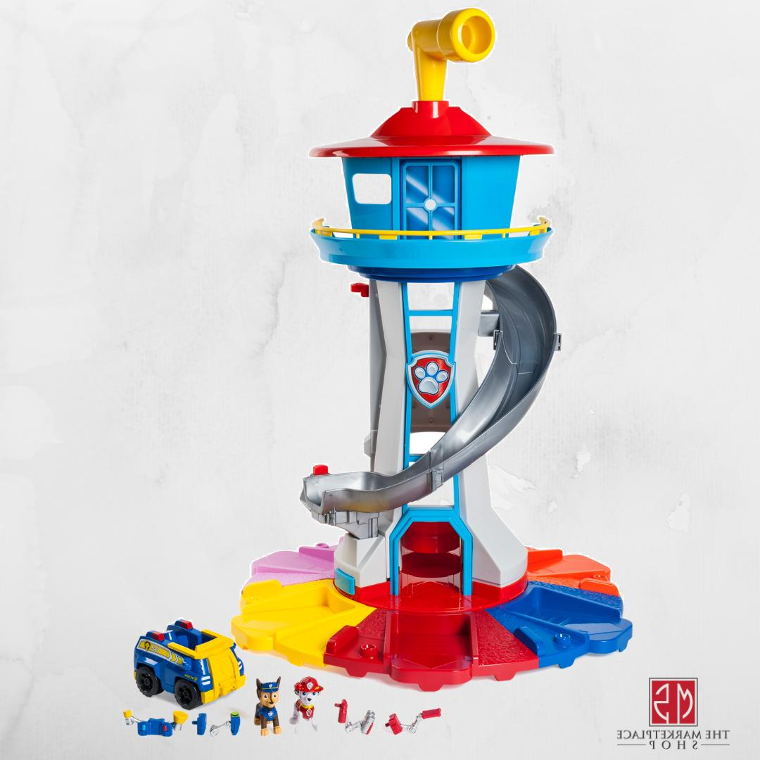 paw patrol lookout tower child kids pretend
