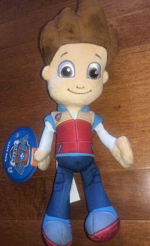 paw patrol pup pals ryder doll toy