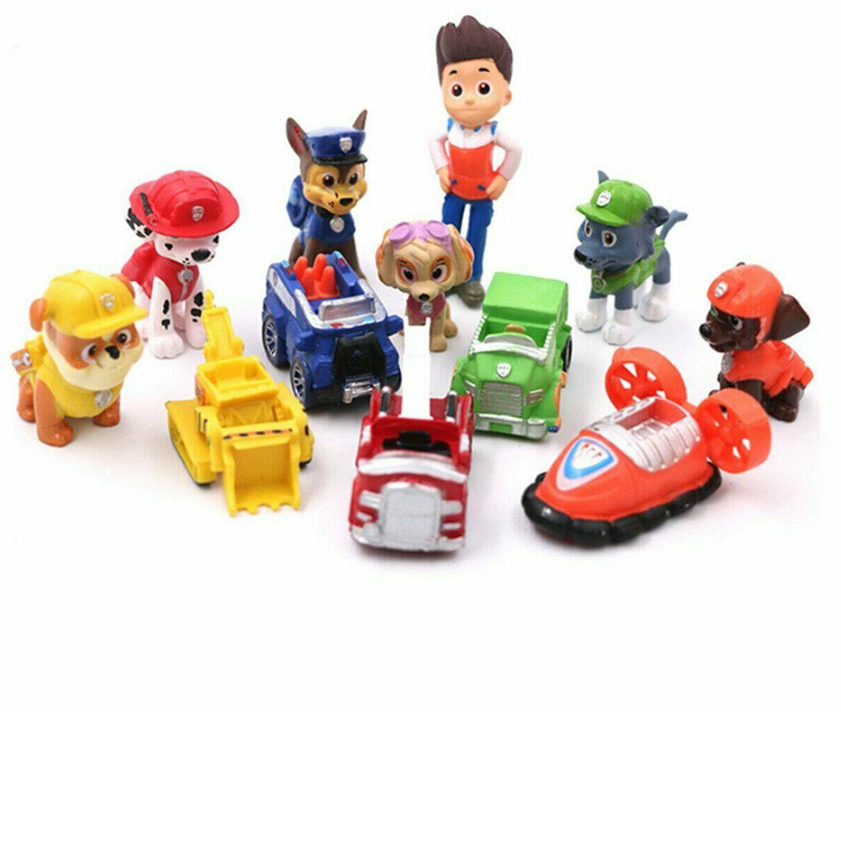 Paw Vehicles Cute Figure Topper Gift Toy