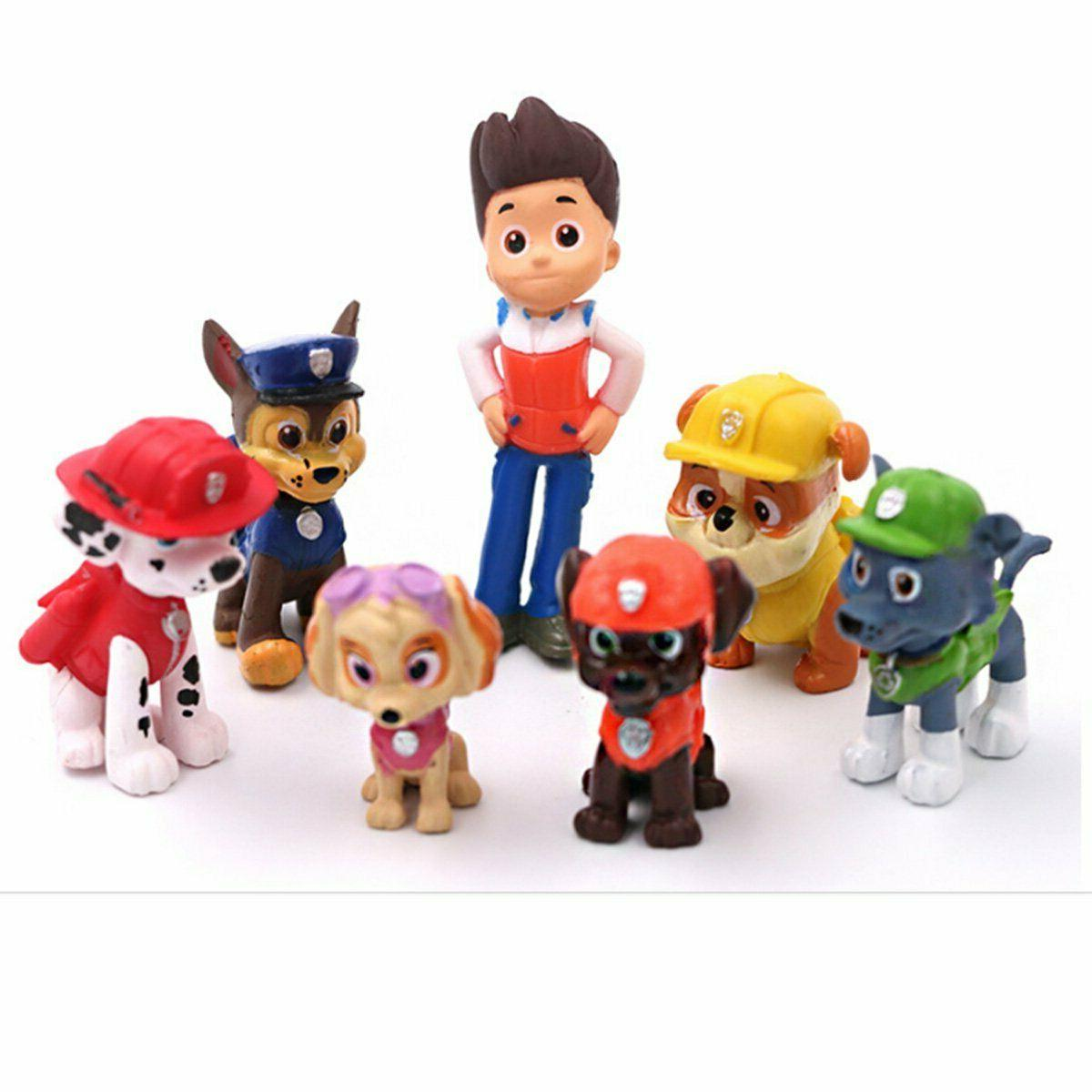 Paw Pups Vehicles Figure Topper Kid Gift