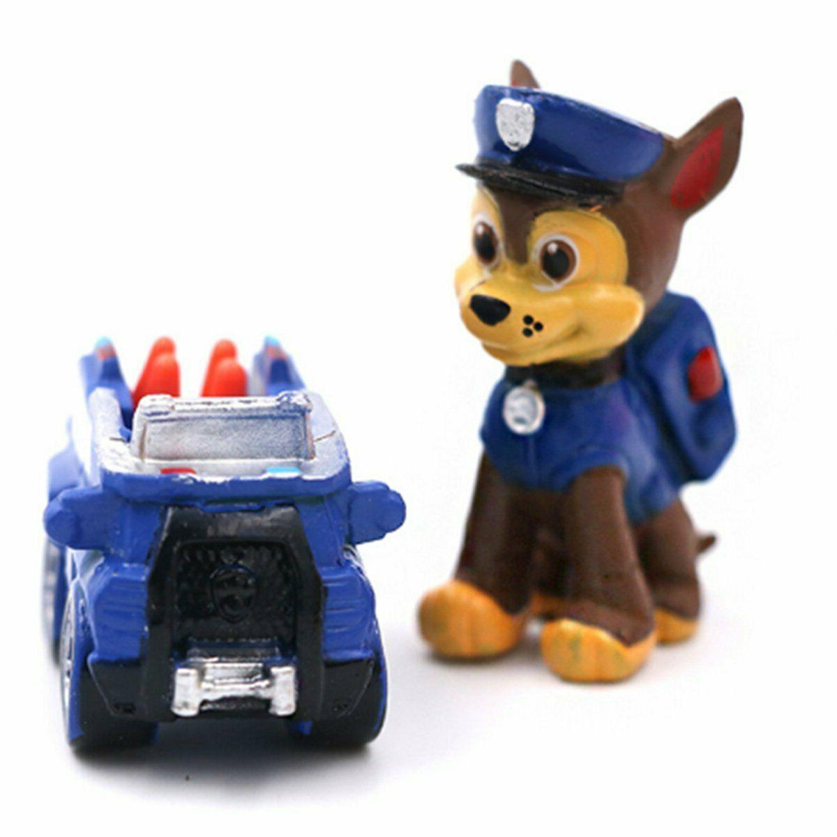 12 Paw Patrol Ryder 5 Vehicles Cake Toppers Party