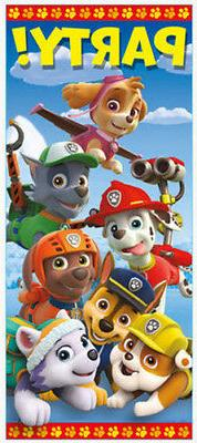 PAW PATROL Scene Setter BIRTHDAY party wall door poster dog