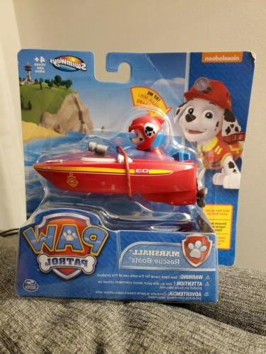 paw patrol sea rescue boat marshall water