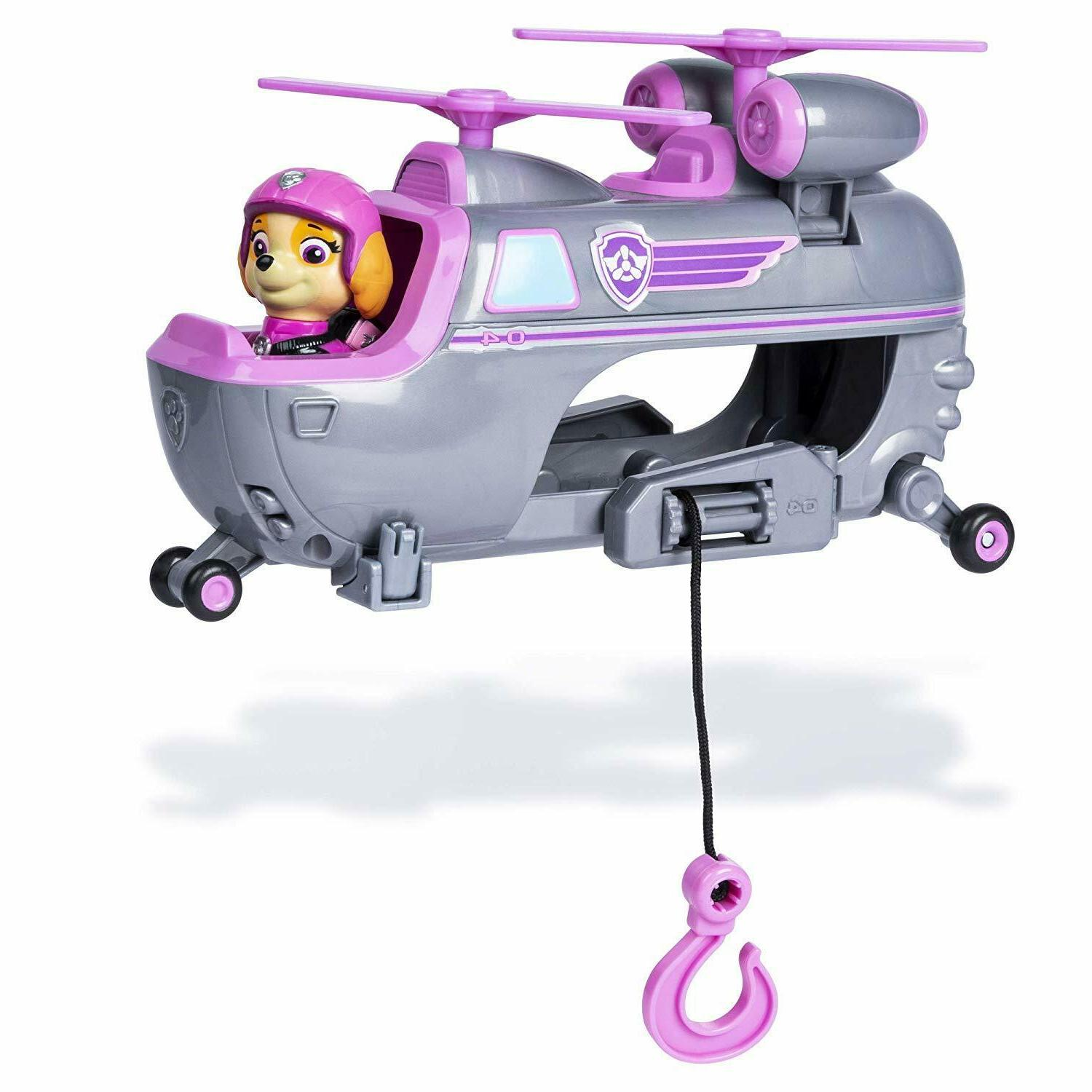 Paw Rescue Helicopter with Moving &