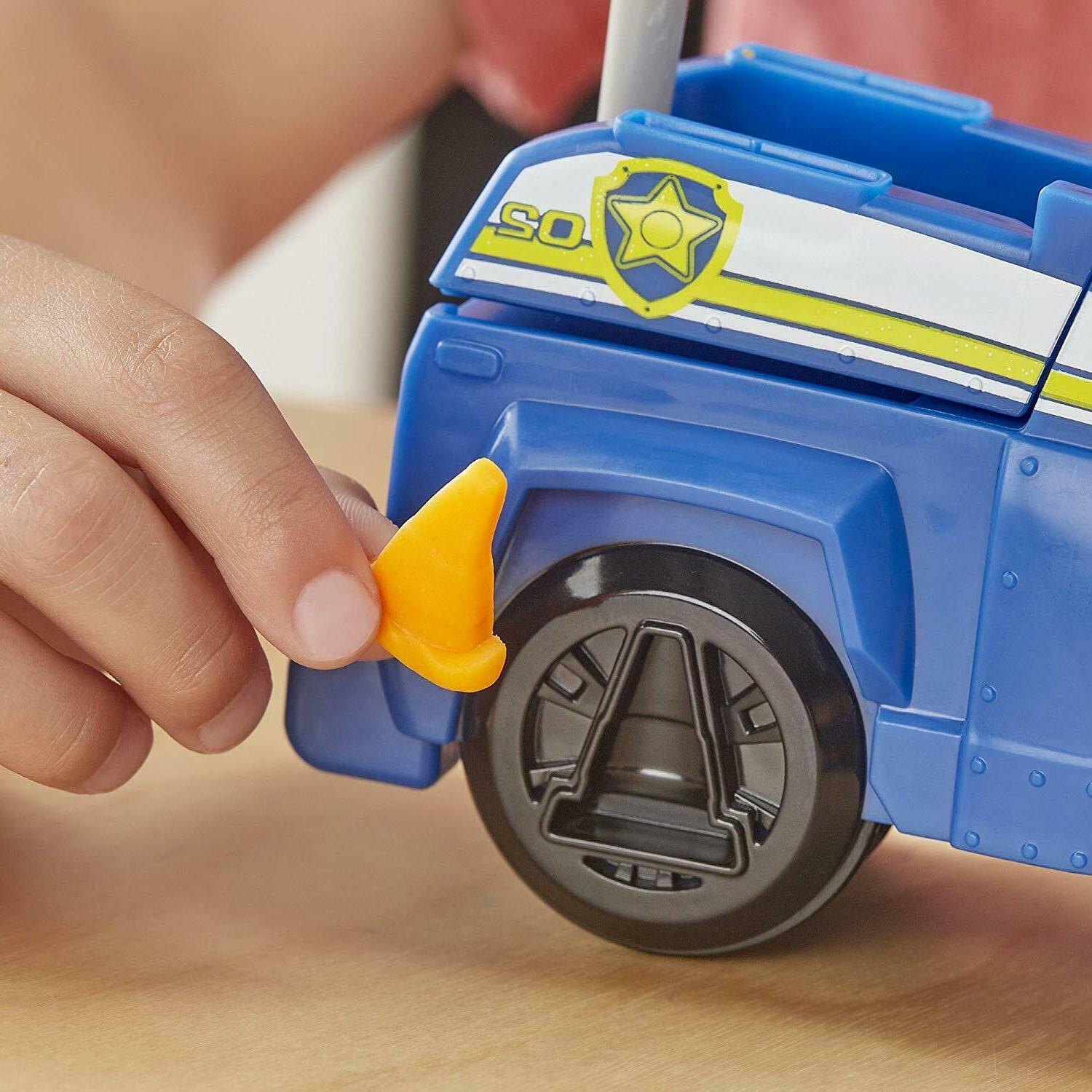 Play Doh Paw Rescue Rolling Chase Toy Police 4 Colors