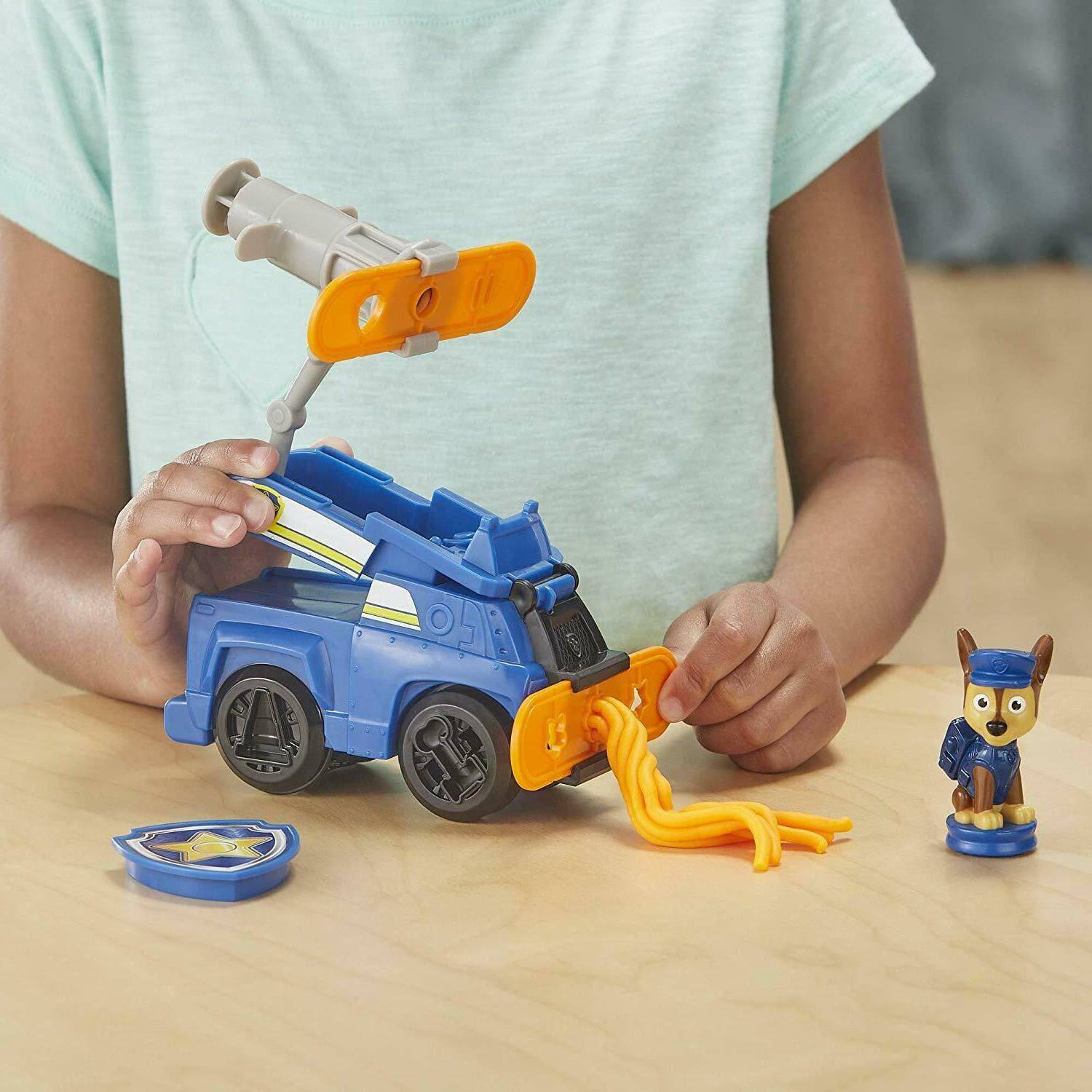 Play Rescue Police Vehicle Set 4 Colors