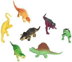 Fun Express Large Assorted Dinosaur Toy Figures - 12 Pieces