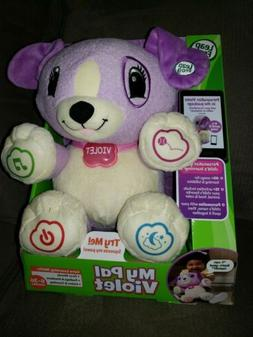 LEAP FROG MY PAL VIOLET LEARNING PLUSH TOY 6-36 MONTHS