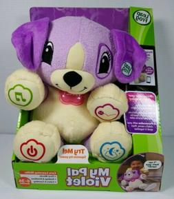 LEAP FROG MY PAL VIOLET LEARNING PLUSH TOY 6-36 MONTHS  **NE
