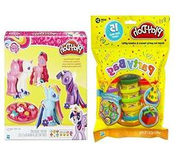 Play-Doh My Little Pony Make 'n Style Ponies + 15 colorful D