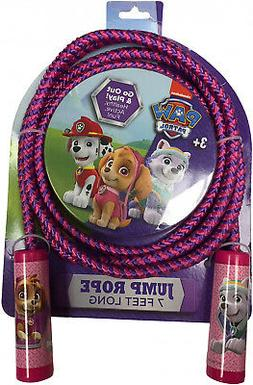 Long Jump Rope Paw Patrol 7 Foot Indoors Outdoors with Activ